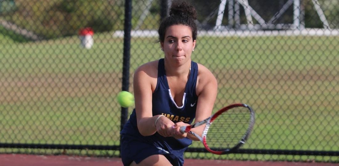 Women's Tennis Notches 7-2 Non-League Victory At Curry