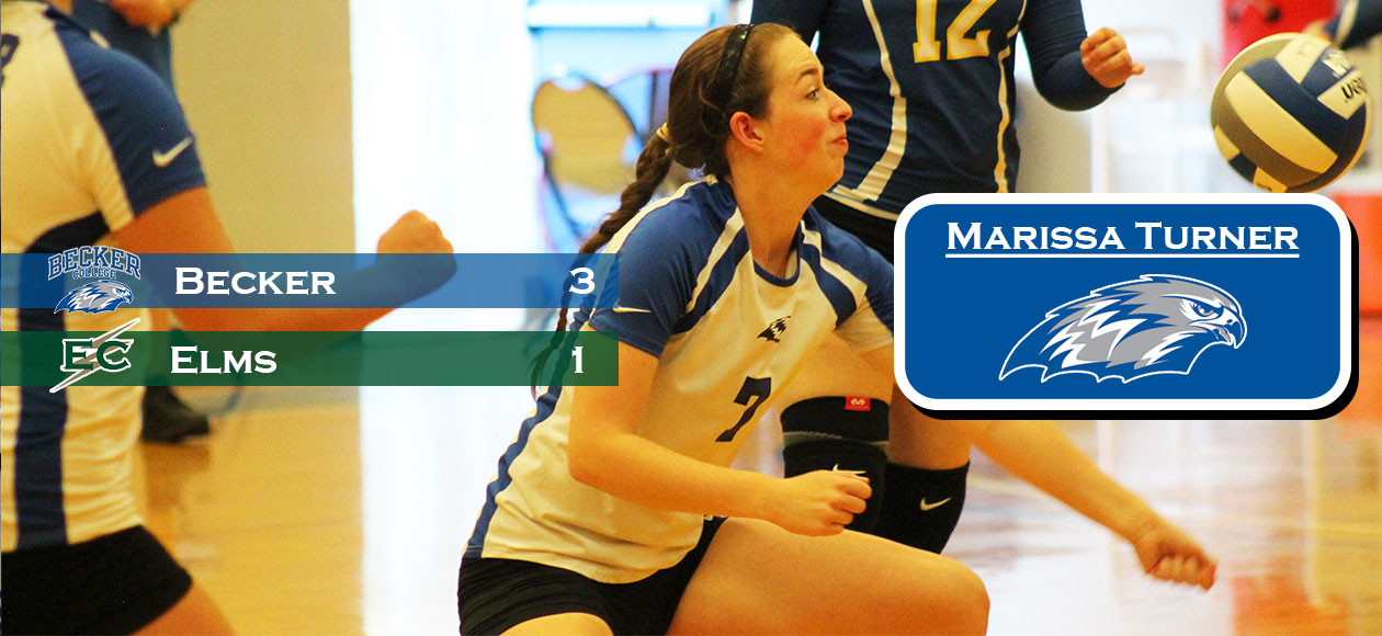 Women's Volleyball punches ticket to playoffs with victory at Elms