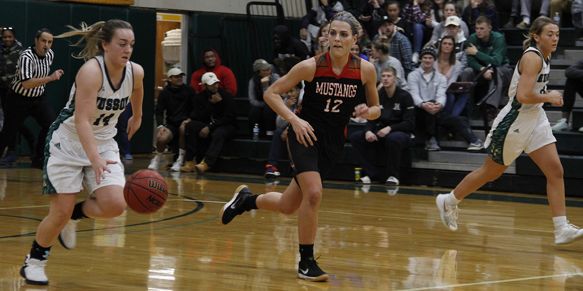 Women's Basketball Takes Down Mustangs in Exhibition Game, 59-53