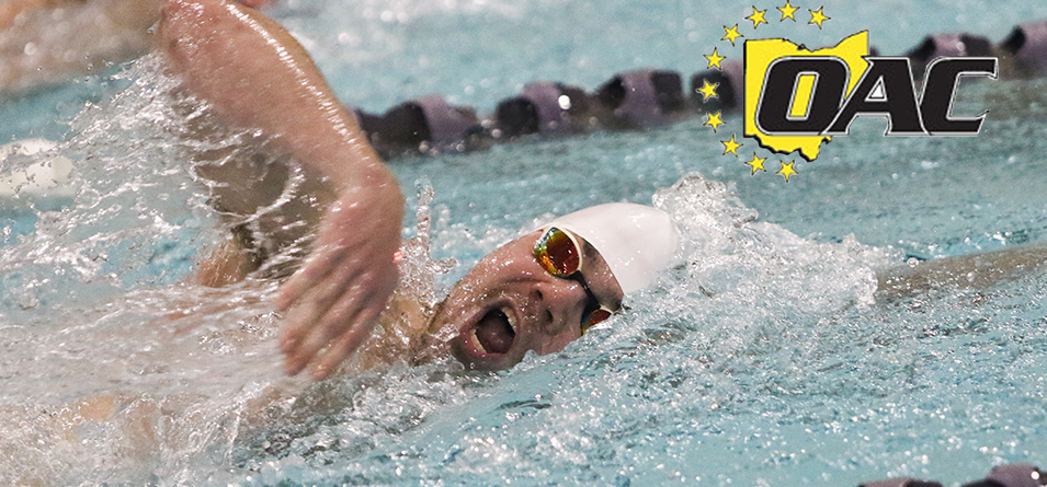 Men's Swimmer Butt Garners Second Academic All-OAC Accolade