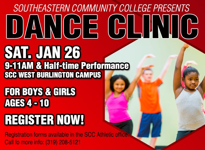 SCC to Host Dance Clinic