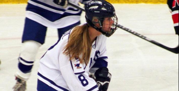 Women's Hockey wins overtime thriller at Marian