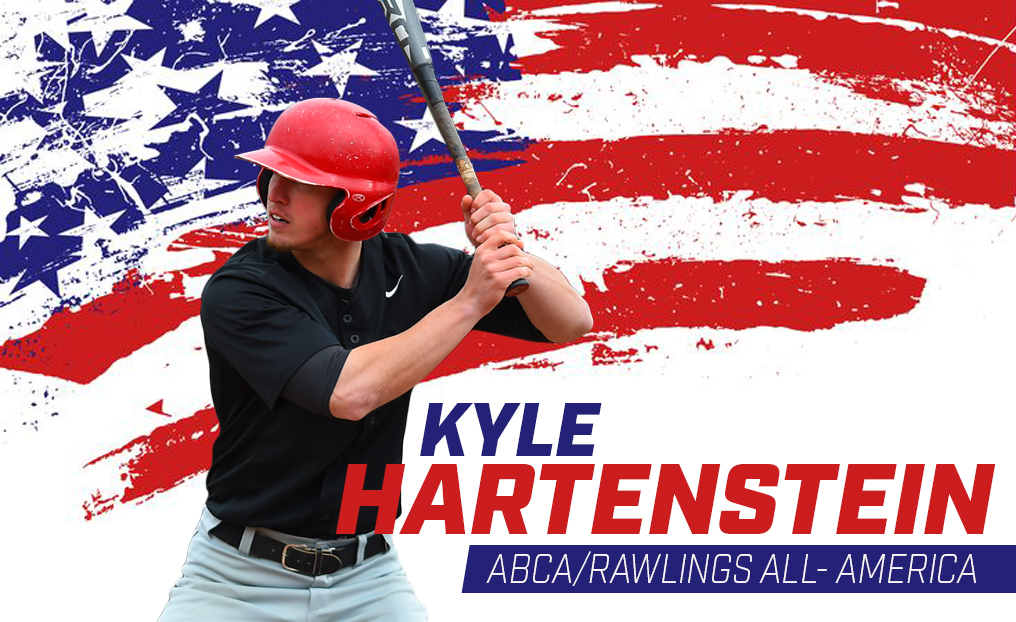 Hartenstein named All-America by ABCA & D3baseball.com