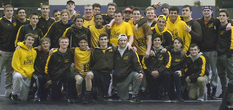 No. 9 Wrestlers Win Second Straight OAC Title