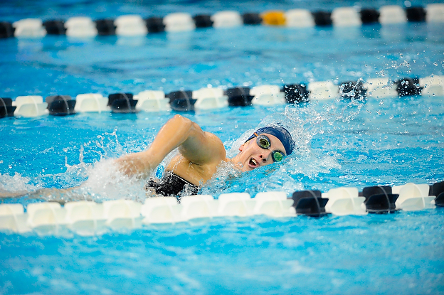 Grant Competes in 500-Free Championship Final