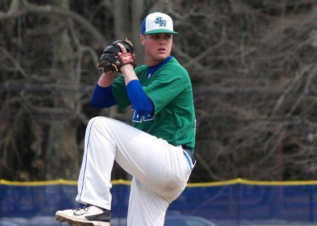 Freshman righthander Frank Lemieux earned his first collegiate victory with a 3-1 score for Salve Regina against St. Joseph's. (Photo by Khari Halliburton)