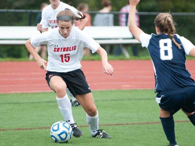 Burke's scoring, Cardinals defense lead to 2-0 win in Pa.