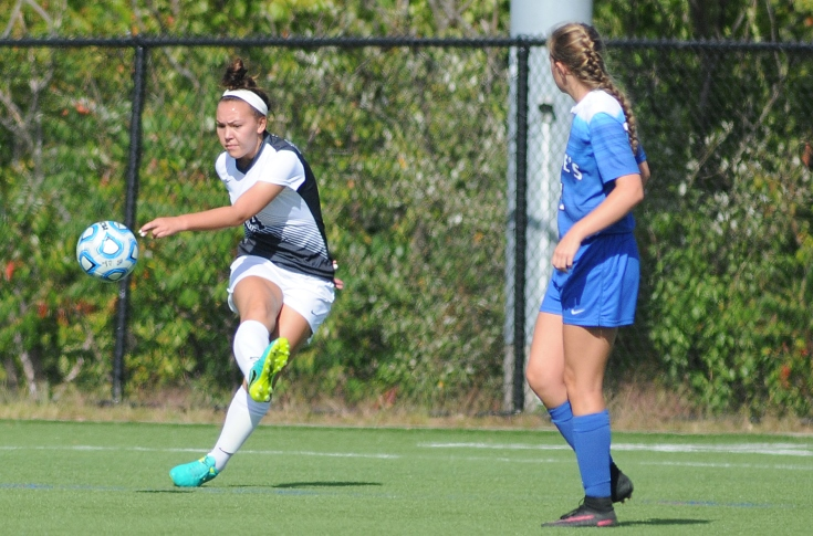 Women's Soccer: Wogan nets first career goal; Raiders tie Albertus 2-2