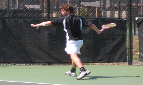Jarred Fisher won two pivotal matches