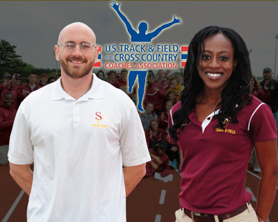 Bataille, Price named USTFCCCA Mideast Assistant Coaches of the Year