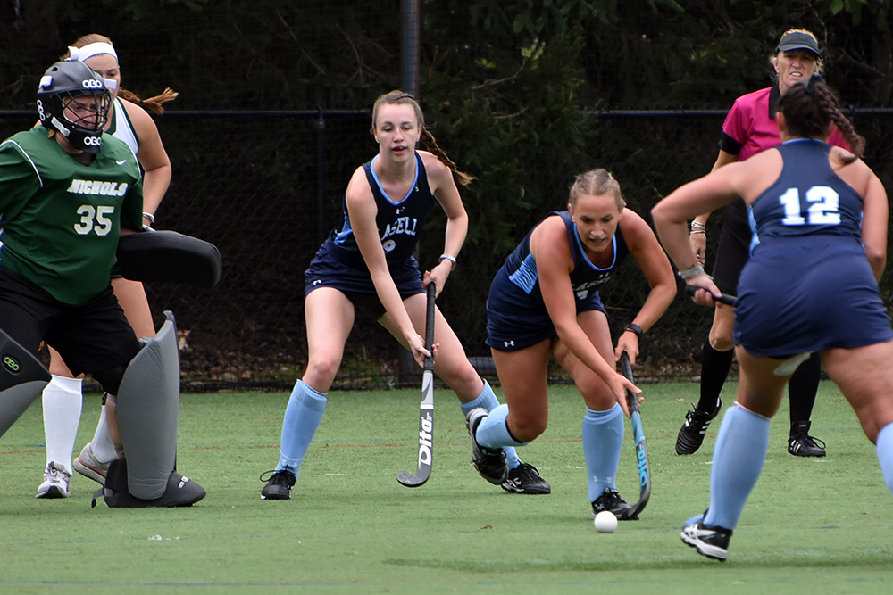 FH: Nichols doubles up Lasell; Taylor and Shepherd score for Lasers