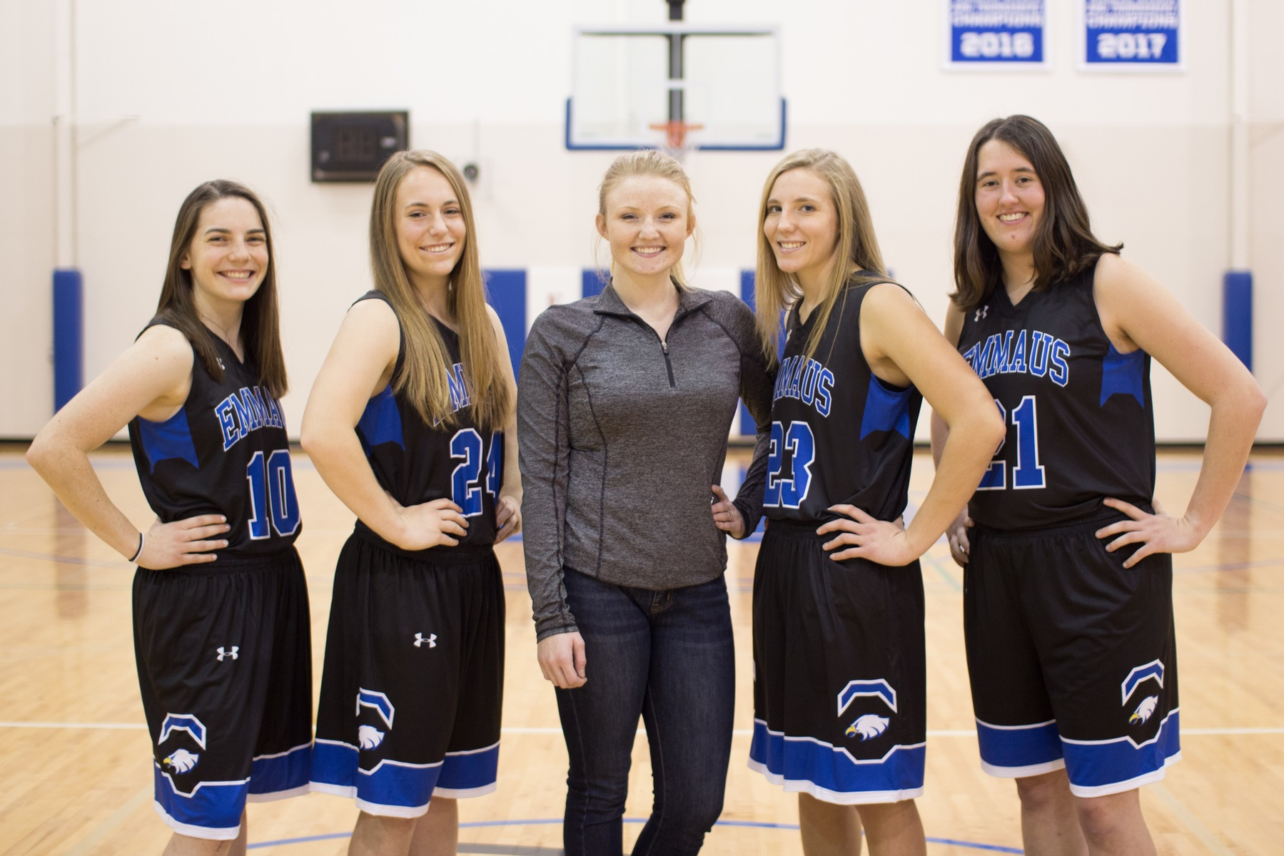 2017-2018 Women's Basketball Seniors