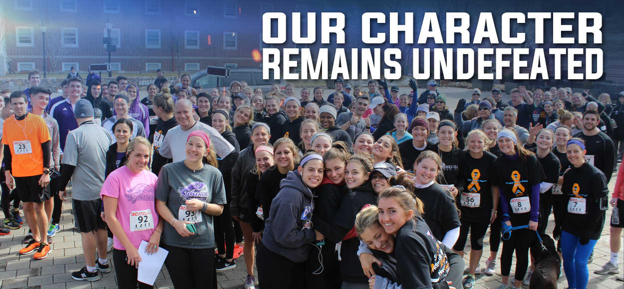 Embrace The Impact: Stonehill Field Hockey Family Raises $3,000 for Childhood Cancer Fund