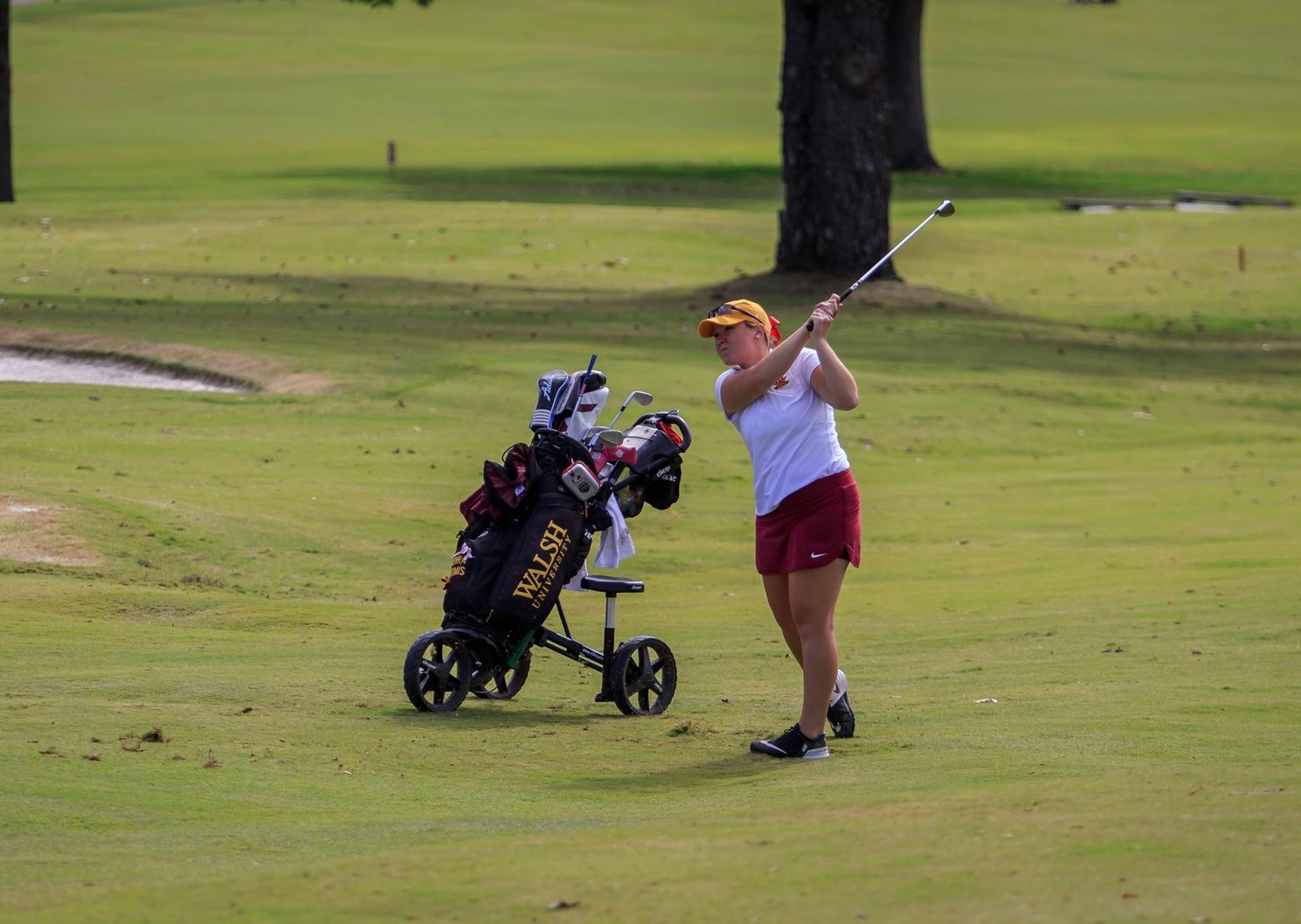 Women's Golf Improves After Day One