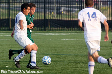 Men's Soccer Rally Falls Short