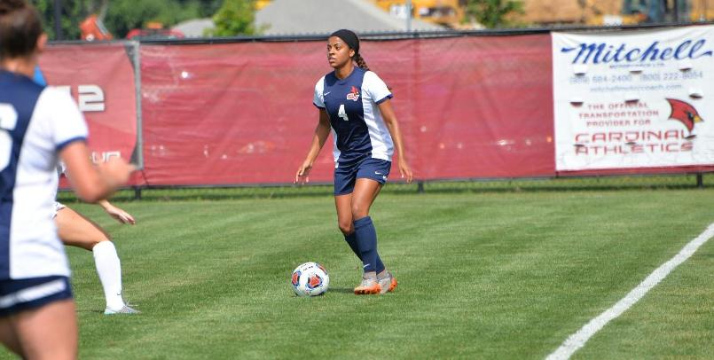 Women's Soccer falls at #2 GVSU, 2-0