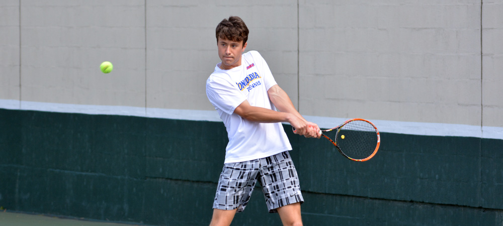 Men's Tennis Sweeps No. 47 Mercyhurst to Advance to the NCAA Quarterfinals