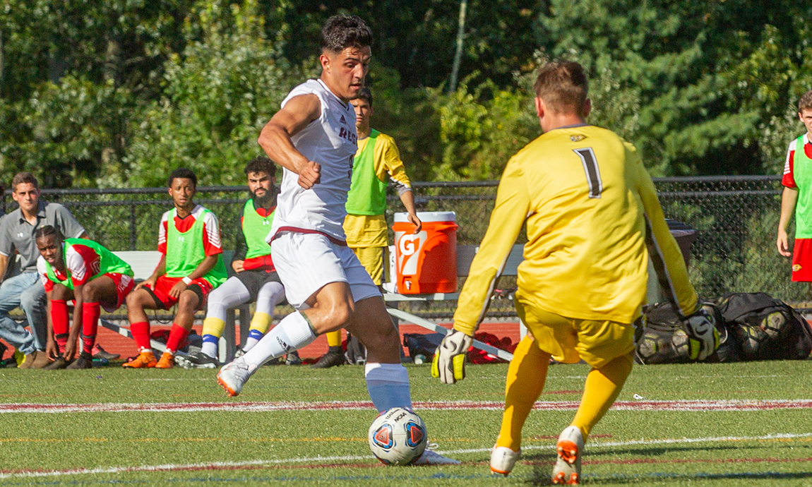 Pride Men's Soccer Scores Late to Defeat Pine Manor, 1-0