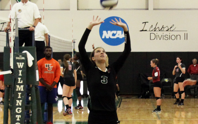 Wilmington Volleyball Splits Opening Day of 2015 Wildcat Regional Invitational
