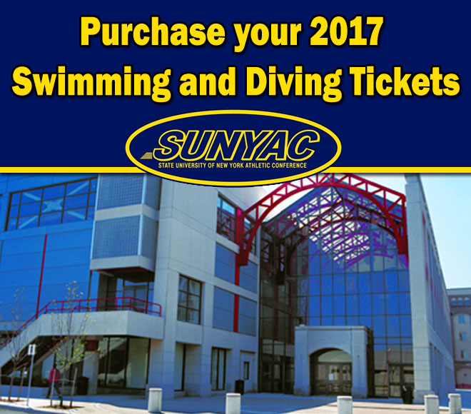 2017 Swimming and Diving Championship Tickets on sale now!