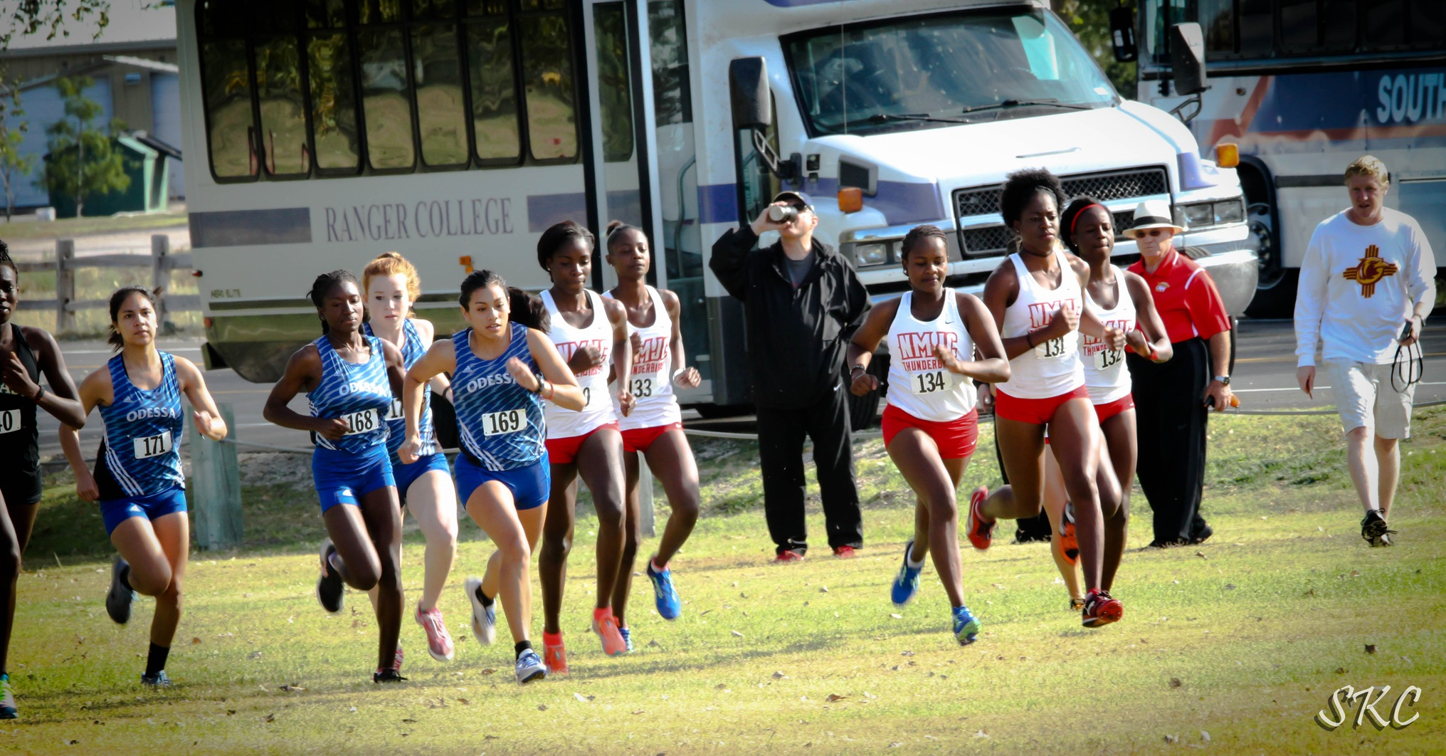 NMJC Duo of Teresha Jacobs and Esther Gitahi Win LCU Cross Country Relays
