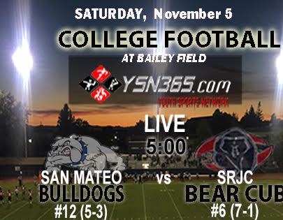Bear Cubs take on #12 ranked San Mateo Saturday November 5th