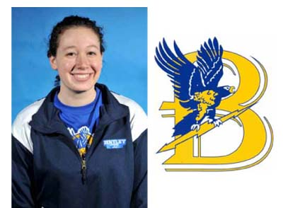Hodsdon Sets School Record as Bentley Women Swim Past Gordon, 144-83