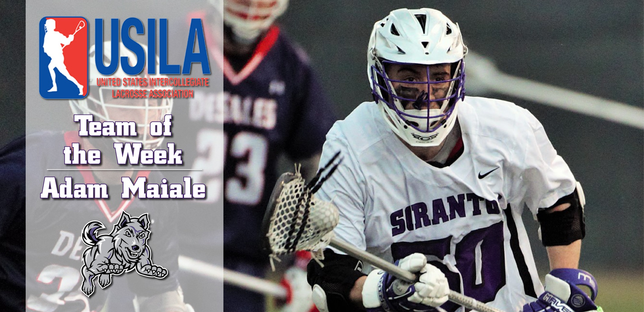 Maiale Named To USILA Team of the Week