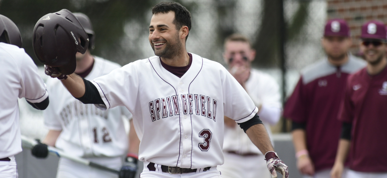 Baseball Earns Split in NEWMAC Doubleheader with MIT