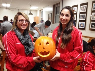 Brookdale's Cheerleading Team Volunteers for Halloween Night Hike