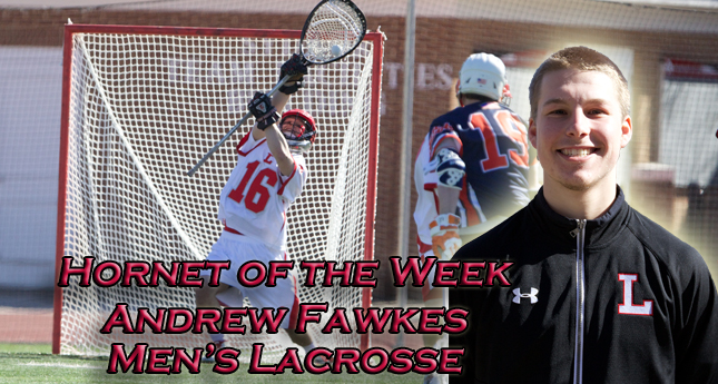 Q and A with Hornet of the Week Andrew Fawkes