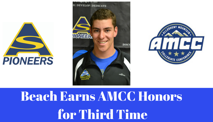 Nick Beach Named AMCC Diver of the Week