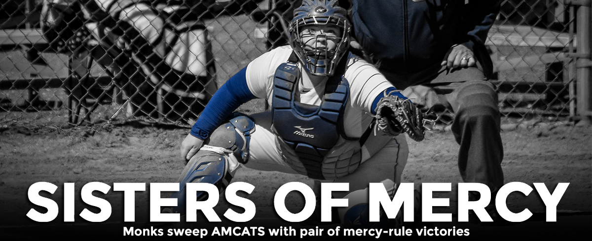 Monks Post Pair of Mercy-Rule Wins over AMCATS, 9-1 & 11-3