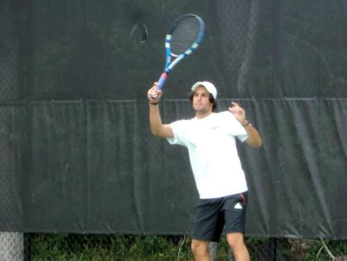 CUA Men's Tennis Earns First Conference Win