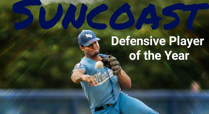 Austin James Named Suncoast Conference Defensive Player of the Year