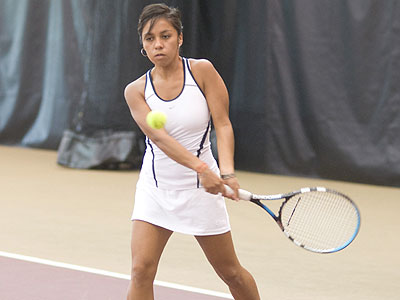 FSU senior Daniela Dimas was a double winner in Friday's match