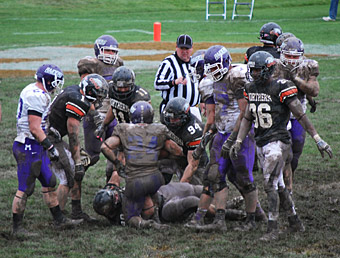 Mount Union, Ohio Northern, mud
