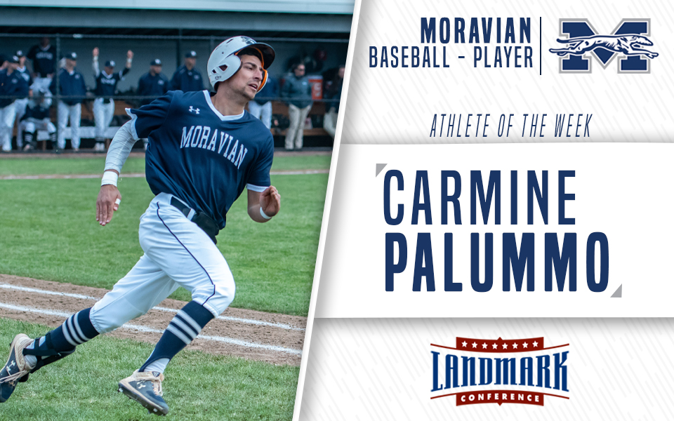 Carmine Palummo named Landmark Conference Baseball Player of the Week