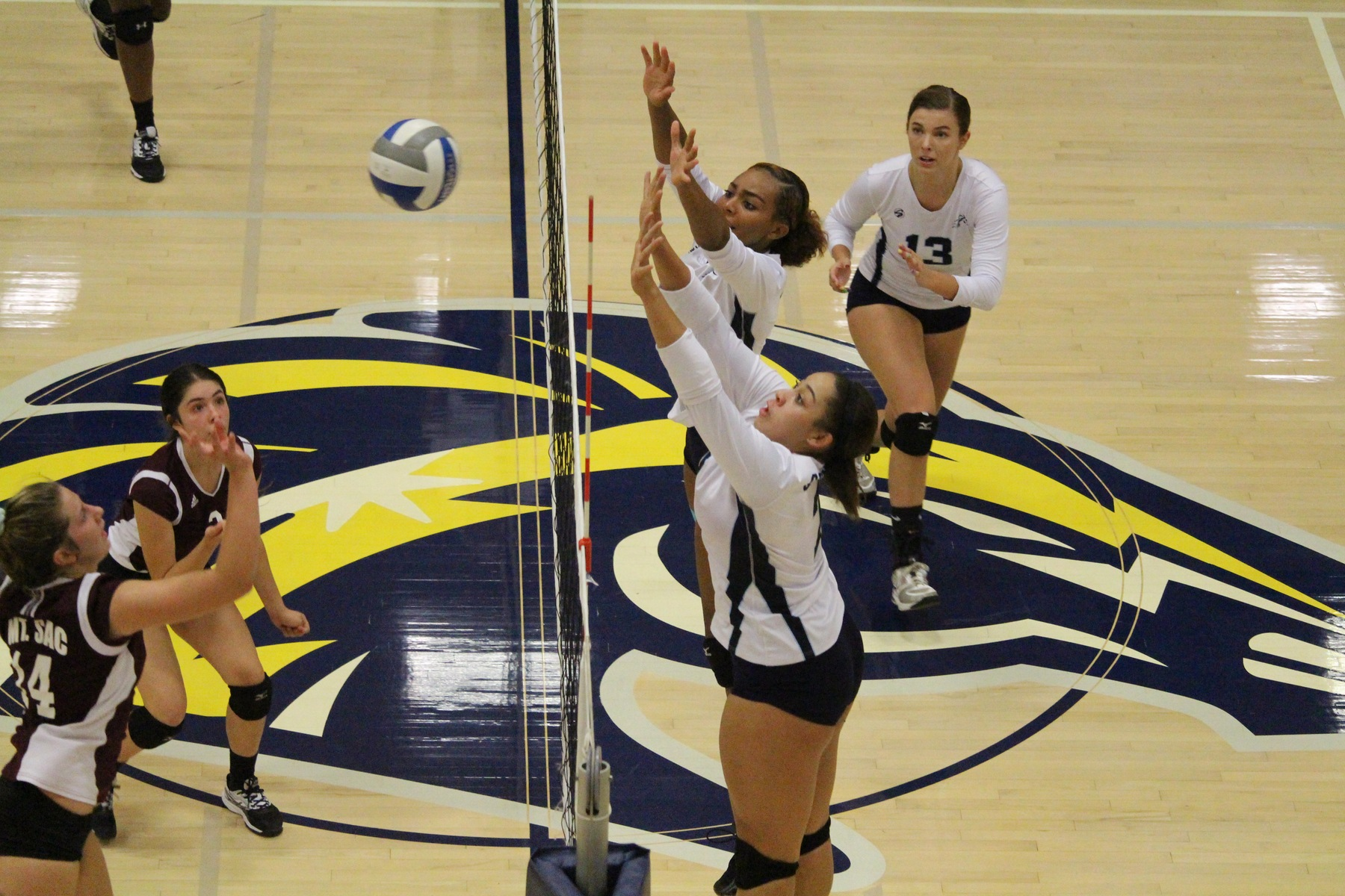 No. 13 Volleyball Defends Home Court Against Mounties, 3-2