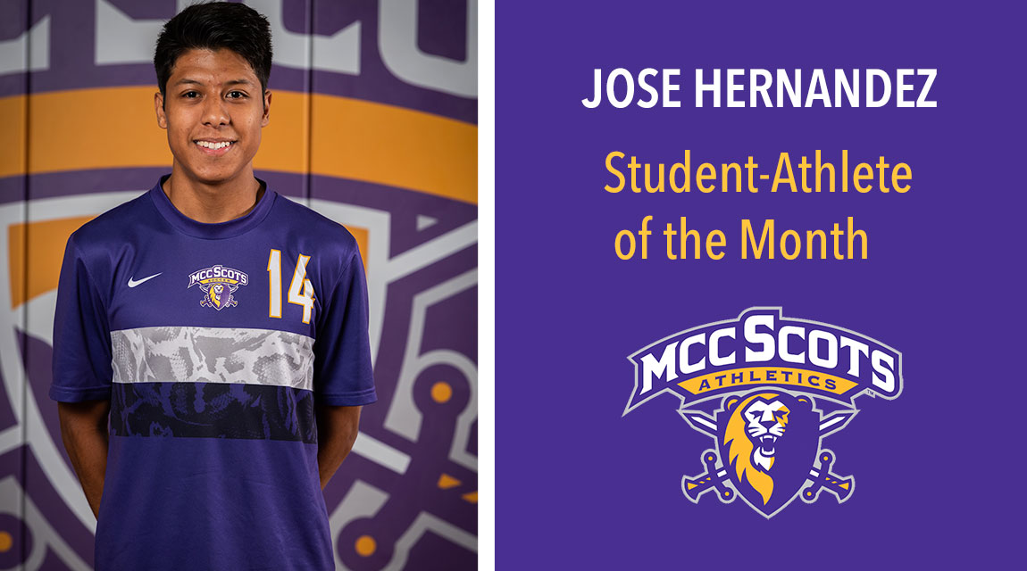 Jose Hernandez, September 2019 Student-Athlete of the Month