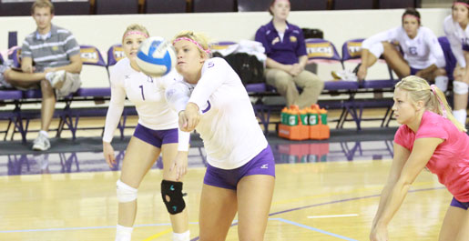 Tech sinks Tennessee State on Dig Pink Night
