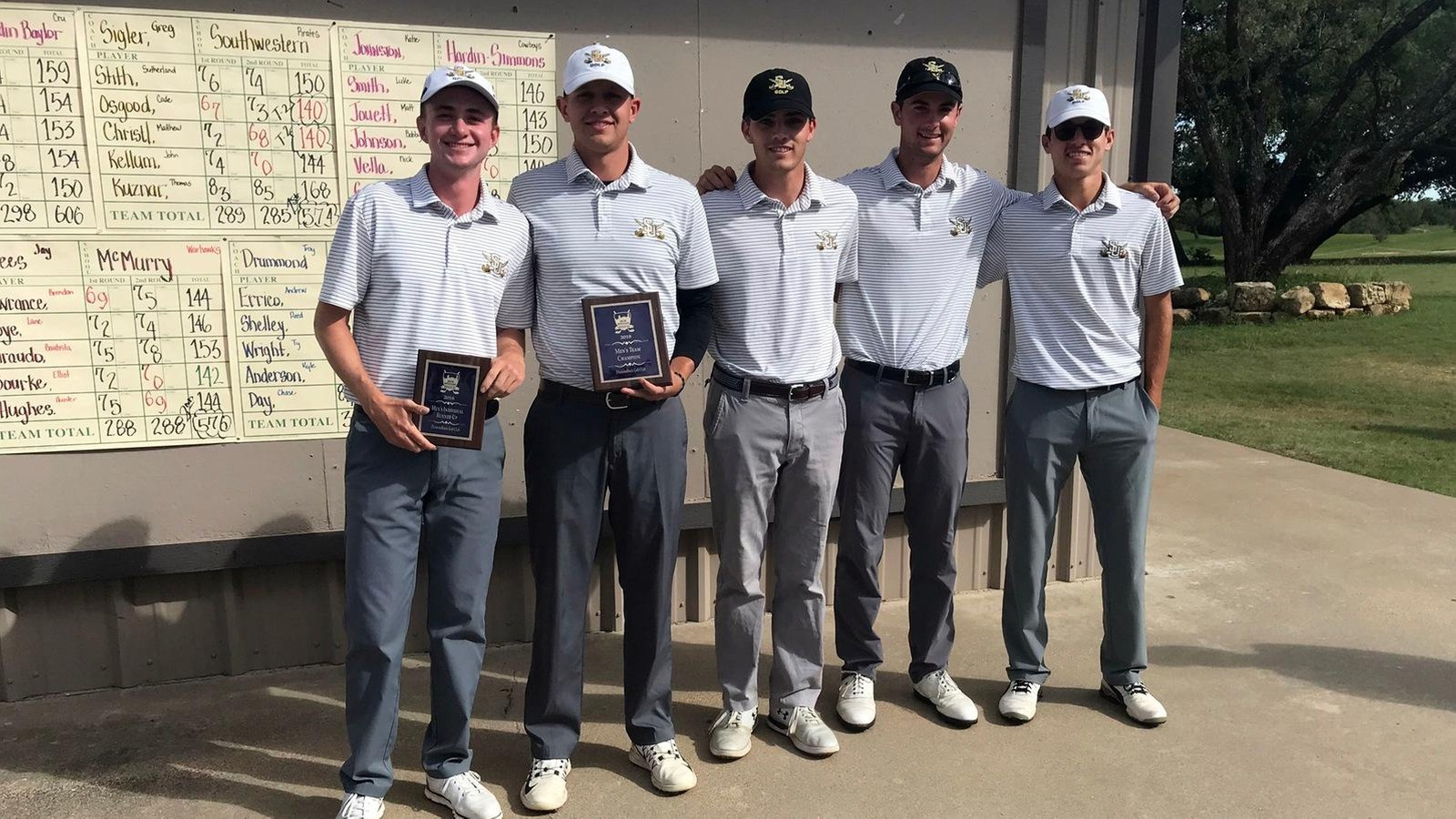 Men's Golf Wins Abilene Invitational To Close Its Fall Schedule