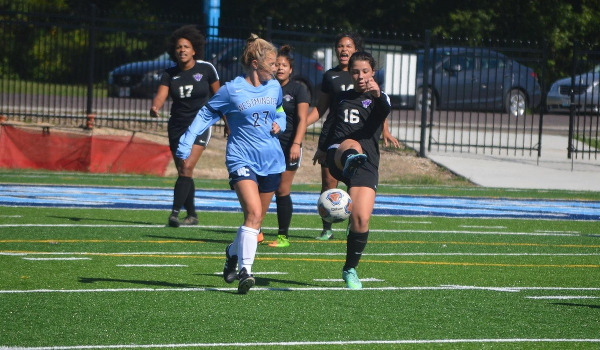 Westminster Women's Soccer Plays Greenville to Scoreless Tie