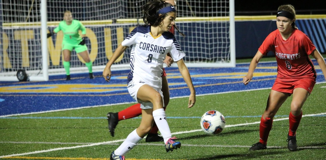 Vieira's Golden Goal Lifts Women's Soccer To 2-1 Victory Over Bridgewater State
