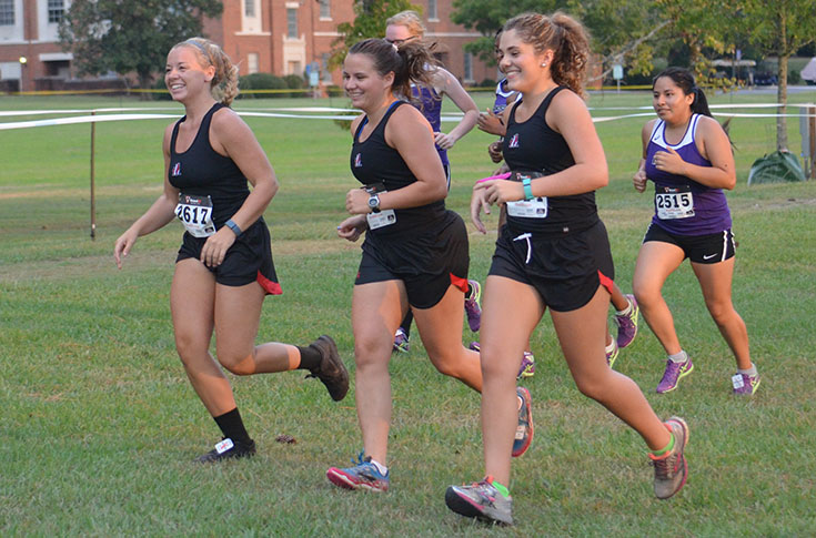 Cross Country: Panther team compete at USA South Championships