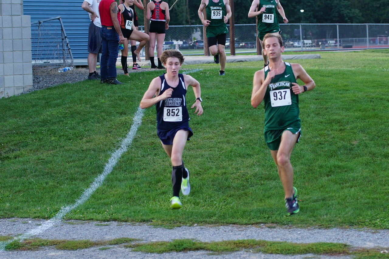 Men's Cross Country Finishes Third in Season Opener