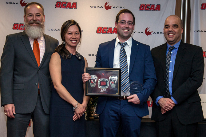 MacAlpine named CCAA Coach of the Year