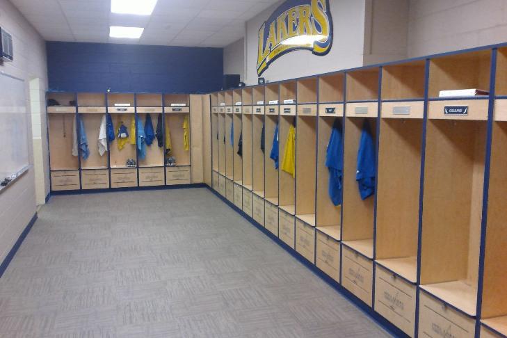 Women\'s Locker Room - Iowa Lakes Community College