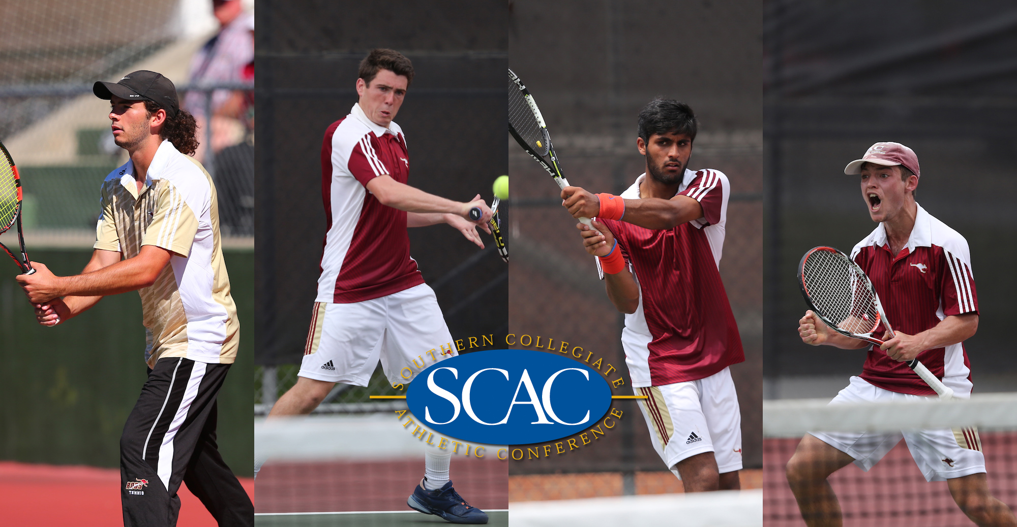 Four From 'Roo Men's Tennis Earn All-SCAC