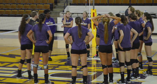 Golden Eagle Volleyball Preseason Underway